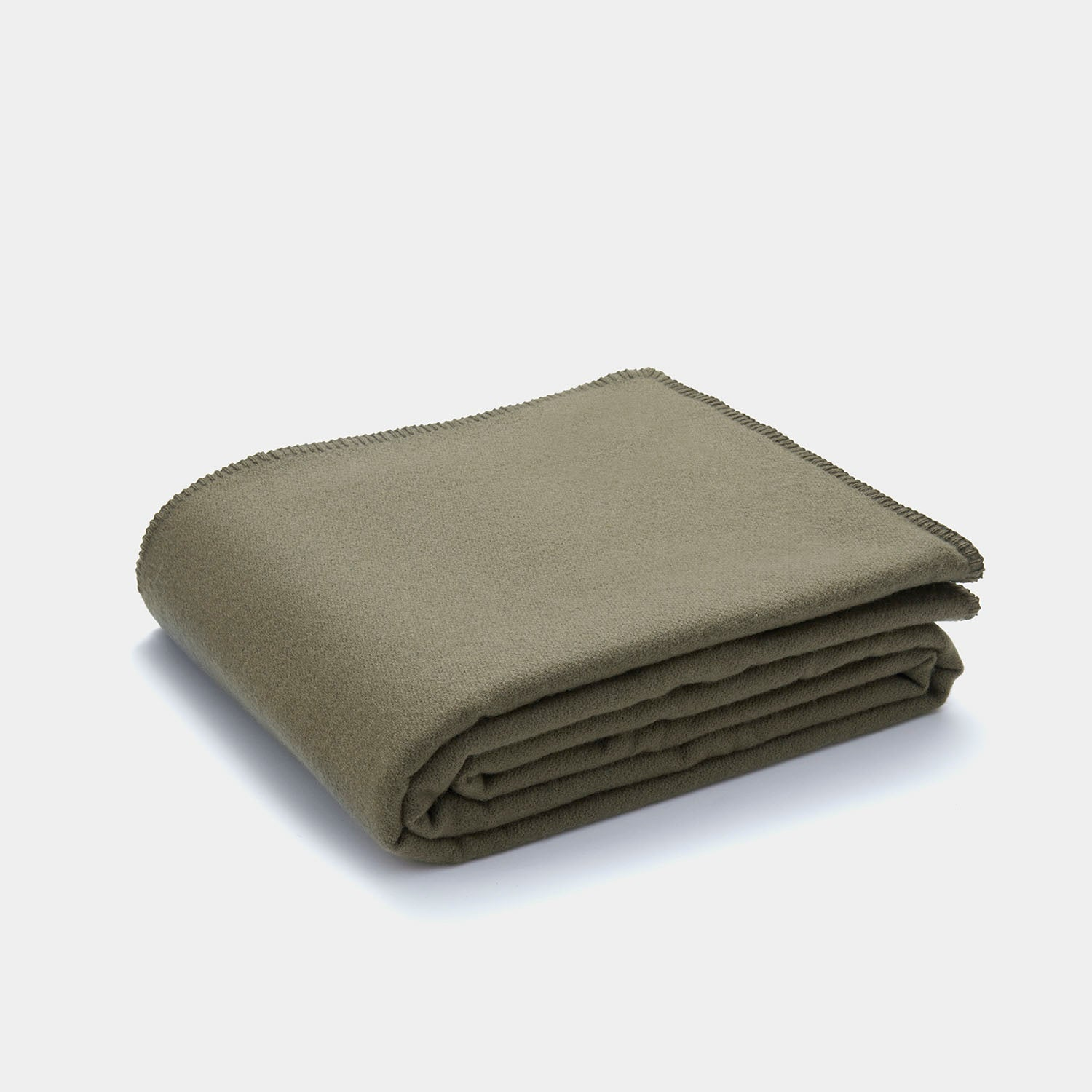Pendleton Eco-Wise Wool Solid Blanket - Caper