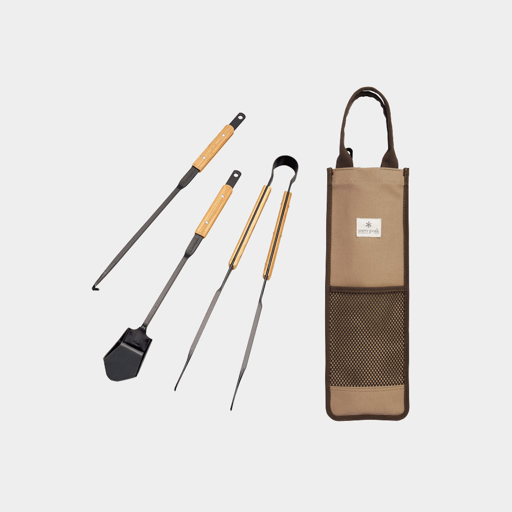 Snow Peak Fire Tool Set Pro