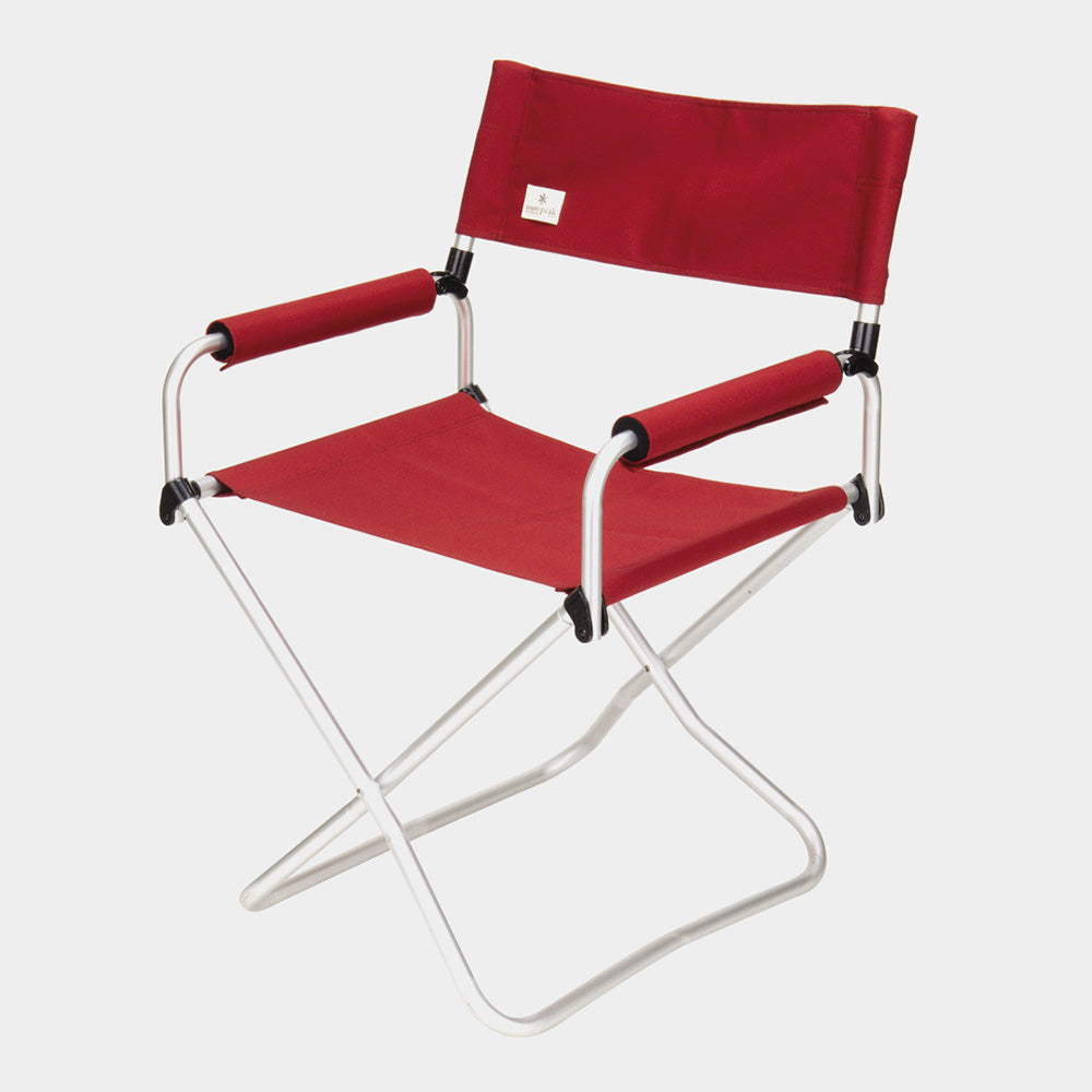 Snow Peak Folding Canvas and Aluminium Red Chair