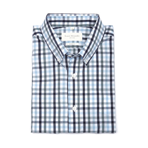 Carter Light Plaid Shirt - Size XL