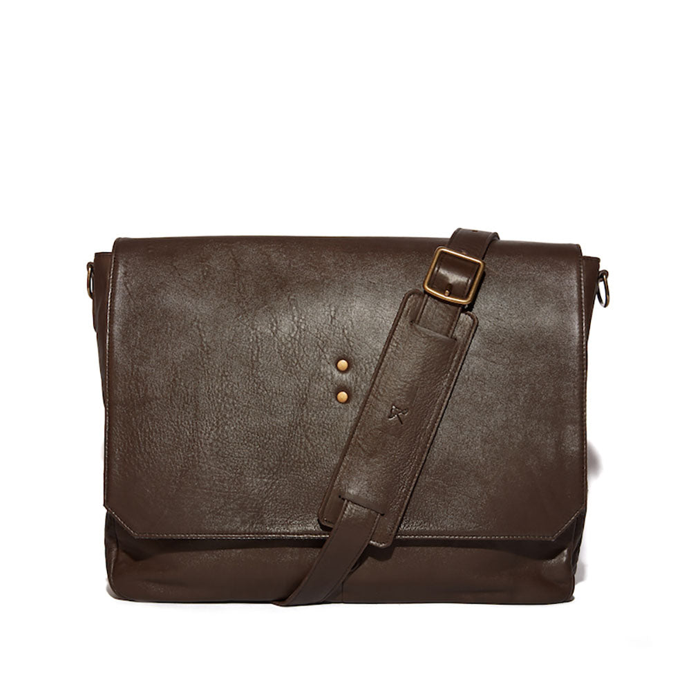 Mercer Leather Messenger - Ernest Alexander