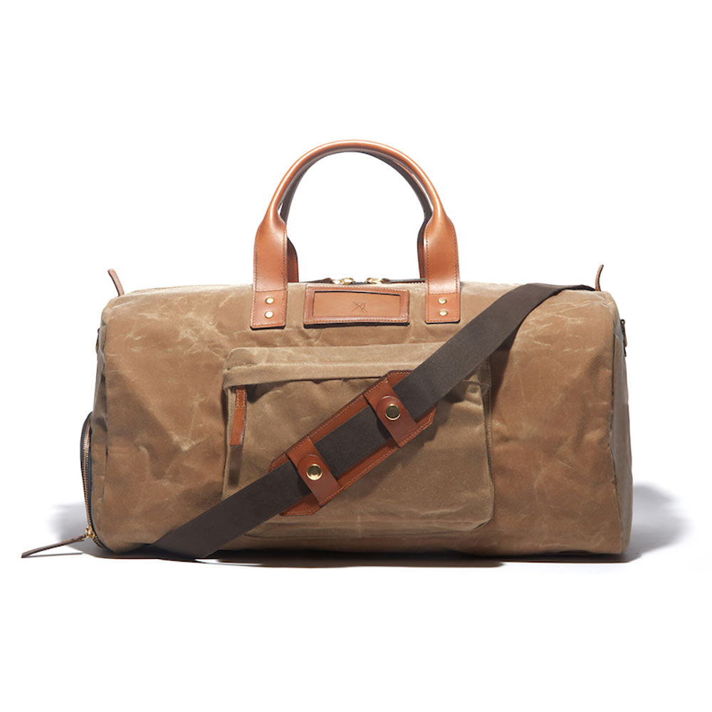 Andrews Wax Canvas Weekender Duffle - Ernest Alexander