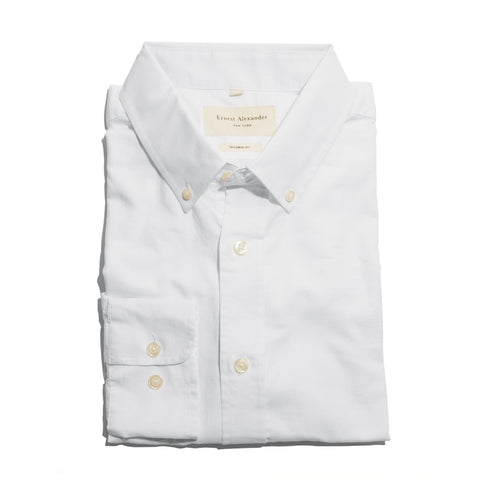 The Cooper White Oxford Shirt