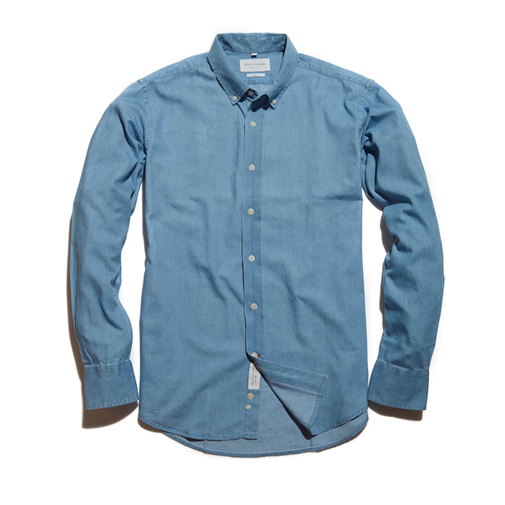 2b09e66a7c The Jackson Washed Denim Shirt - Ernest Alexander