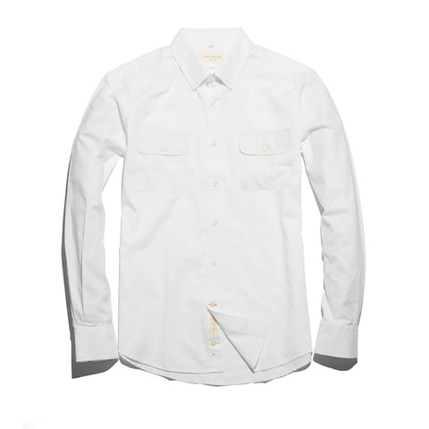 The Mitchell Shirt | White Oxford