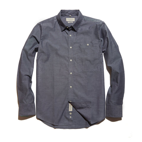 The Calder Shirt | Charcoal Chambray