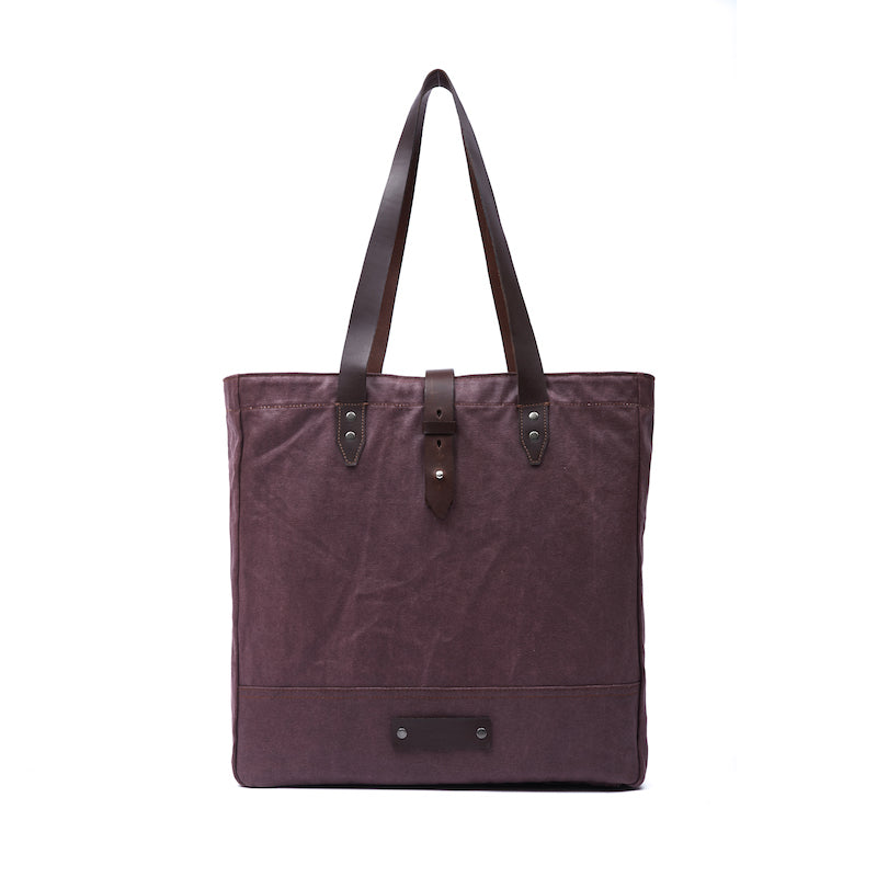 Thompson Oxblood Tote - Ernest Alexander