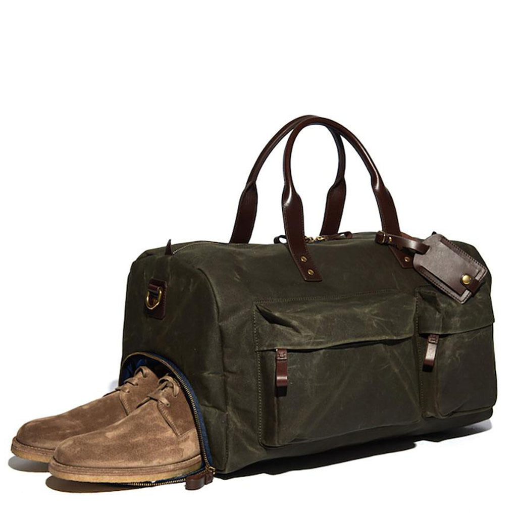 Andrews Waxed Canvas Weekend Duffle