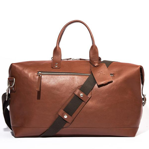 Bedford Leather Duffle - British Brown - Ernest Alexander