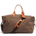 Ernest Box: Tobacco Duffle Bag Set - Ernest Alexander