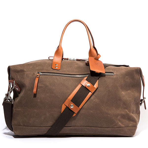The Bedford Wax Twill Weekend Bag - Ernest Alexander
