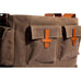 Hudson Messenger Bag - Tobacco Wax Twill - Ernest Alexander