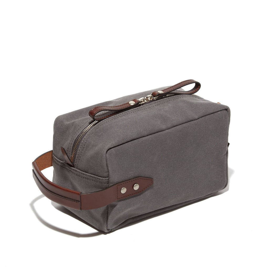 The Parker Dopp Kit - Charcoal Twill - Ernest Alexander