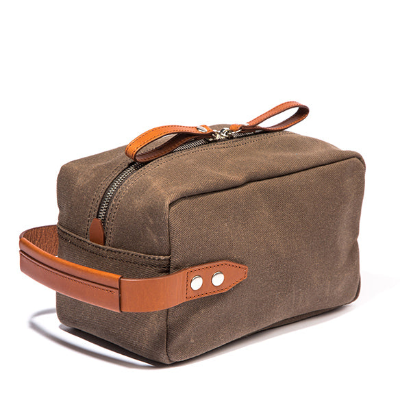 The Parker Dopp Kit - Tobacco Twill - Ernest Alexander