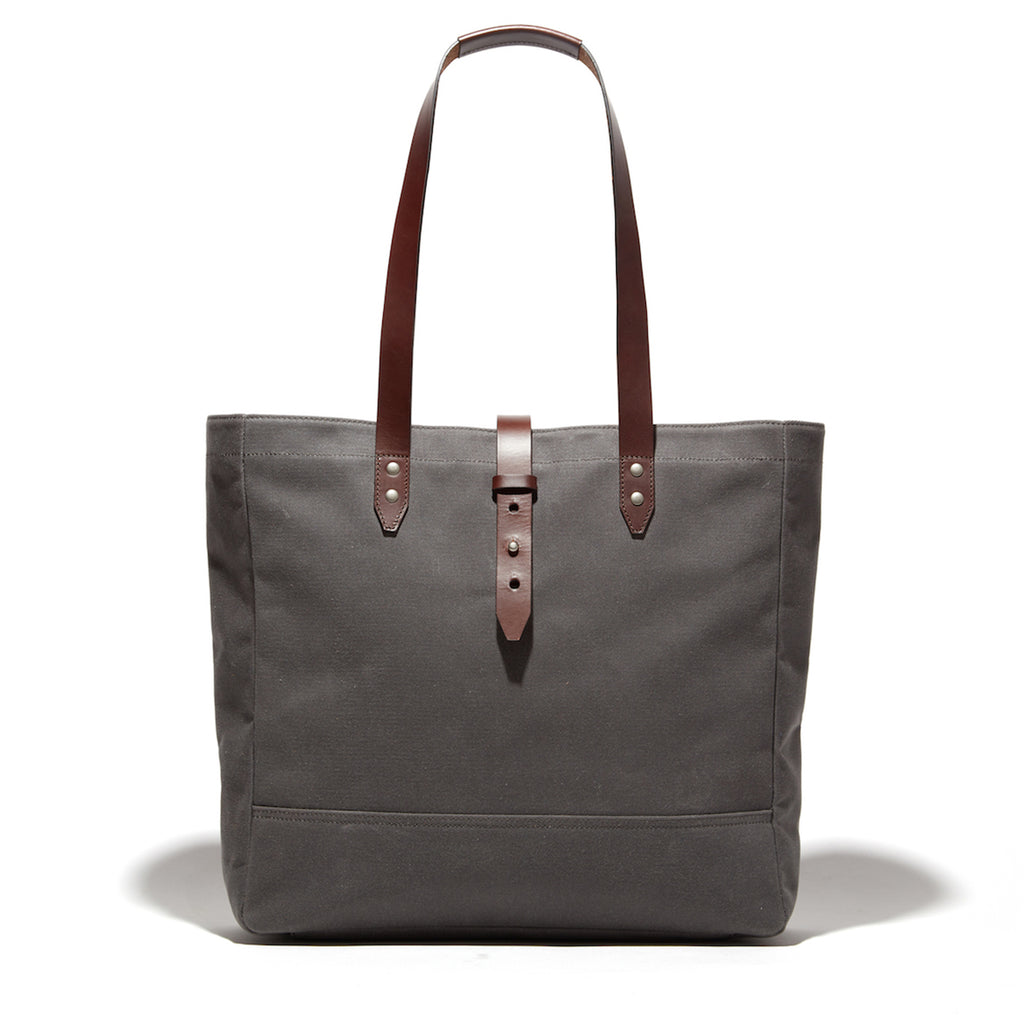 The Thompson Utility Bag - Charcoal Twill - Ernest Alexander