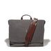 Walker Messenger Brief - Charcoal - Ernest Alexander