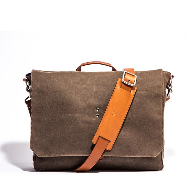 Walker Wax Twill Messenger - Ernest Alexander