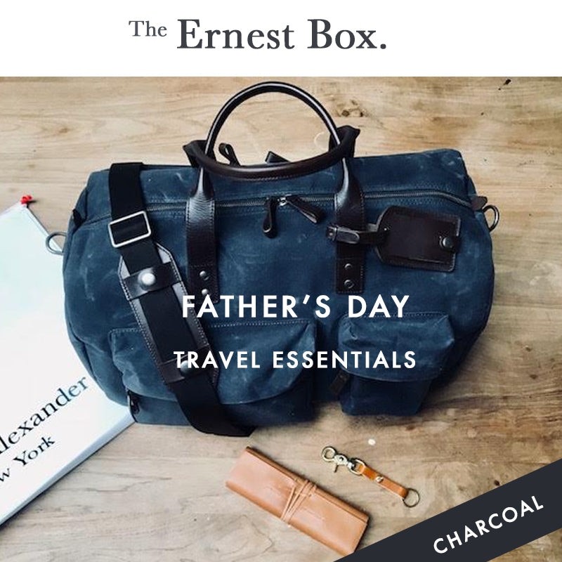 Ernest Box: Father's Day Travel Essentials