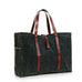 Ernest Box: The Fall Tote Set - Military Olive Wax Canvas - Ernest Alexander