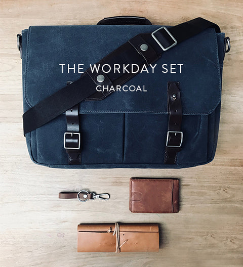 Ernest Box | Workday Essentials (Charcoal)