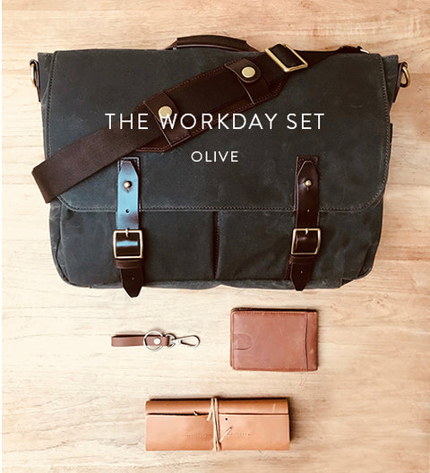 Ernest Box | Workday Essentials (Olive)