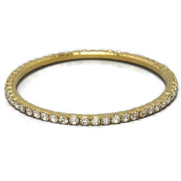 Gold Pave Bangle