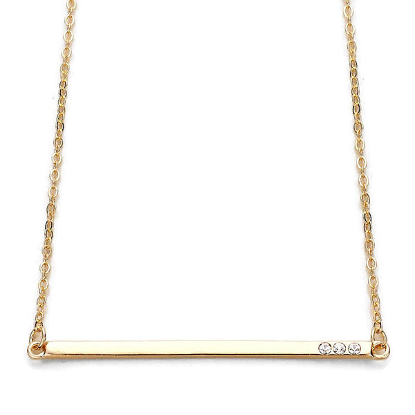 Bling Bar Necklace