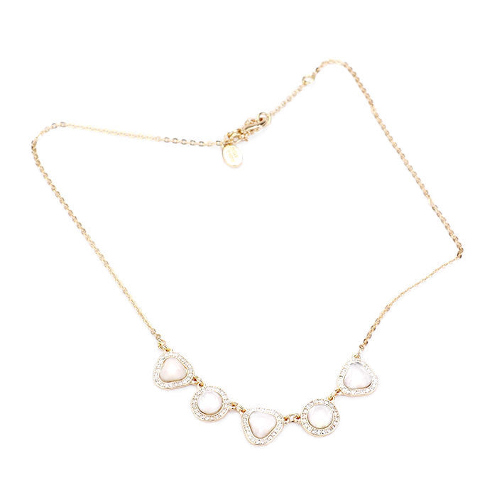 Station Necklace Gold