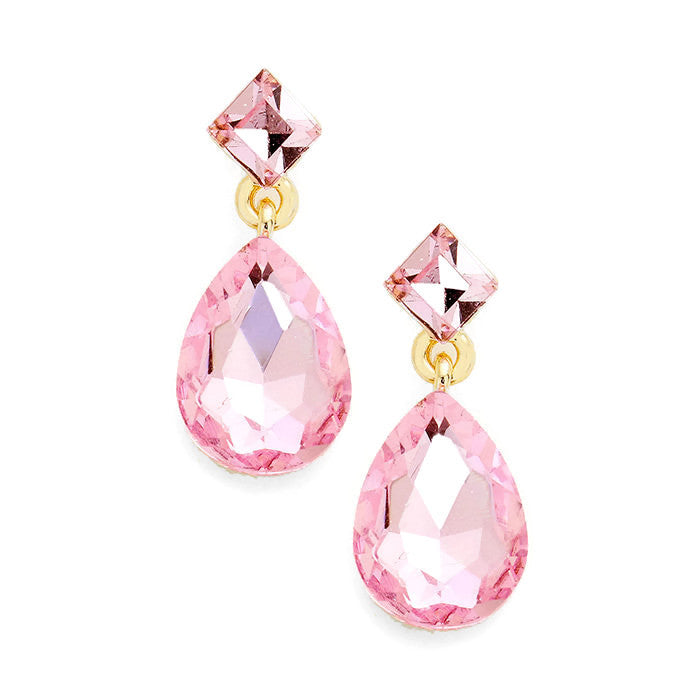 Alexis Earring Light Rose
