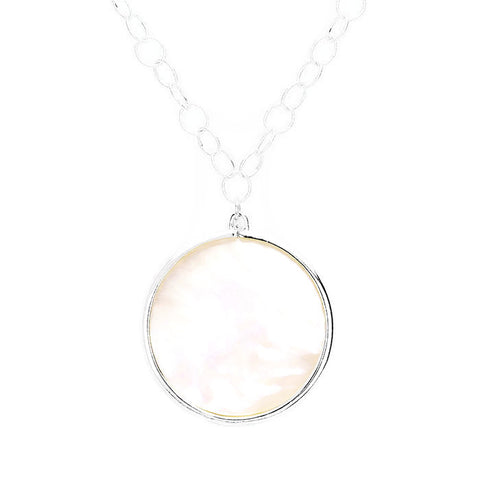 Beth Necklace Rhodium