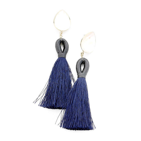 Claire Earring Navy