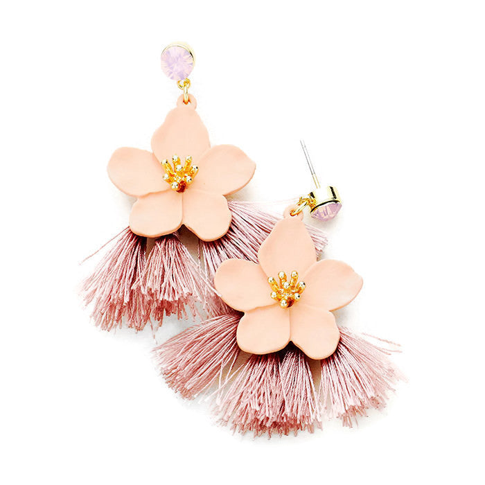 Claudia Earring Pink