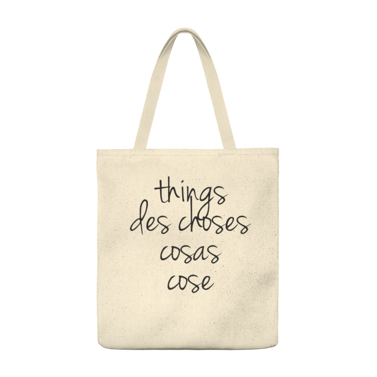 Things, De Choses, Cosas, Cose Tote