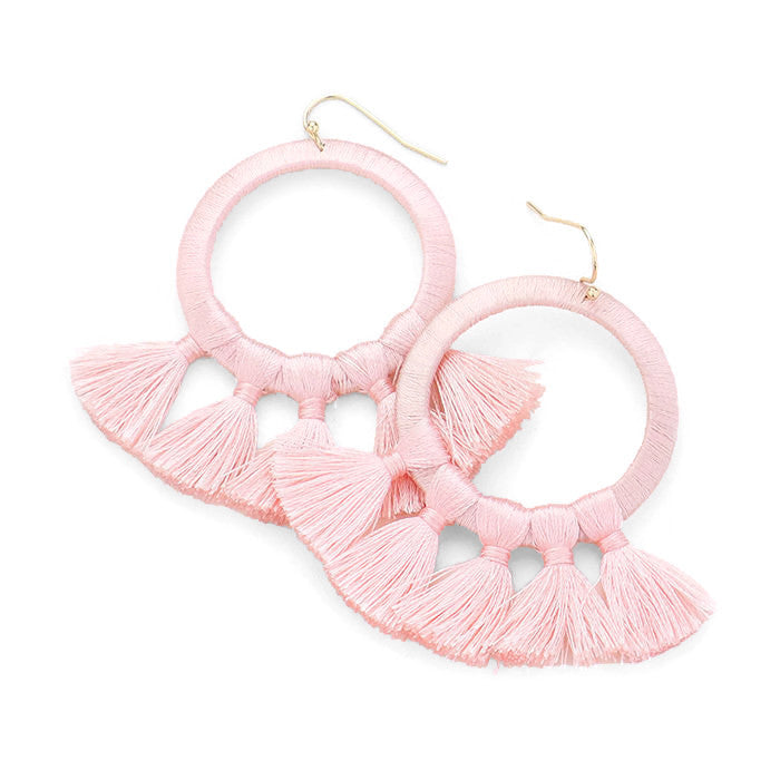 Layla Earring Light Pink