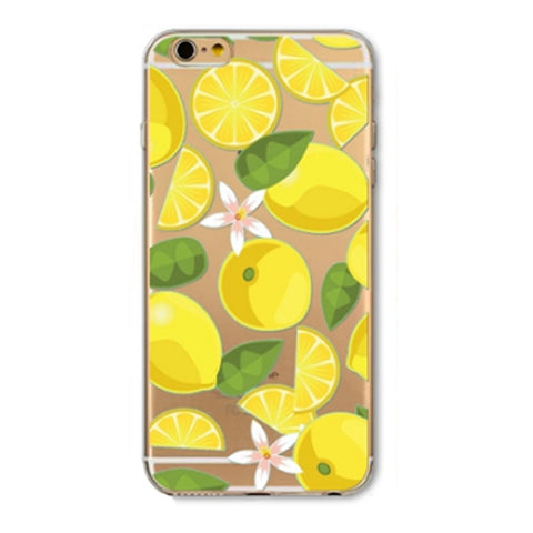 lemon lime iphone case