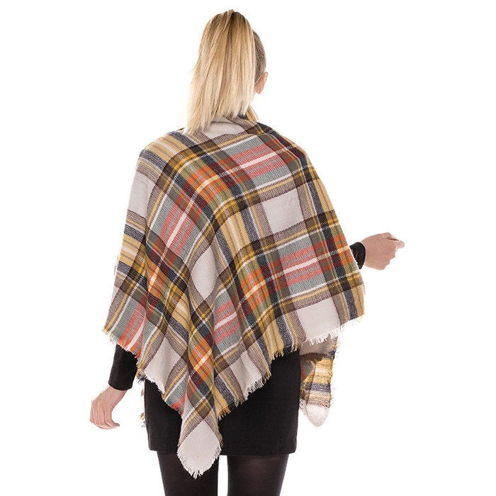 Classic Blanket Scarf Light Camel