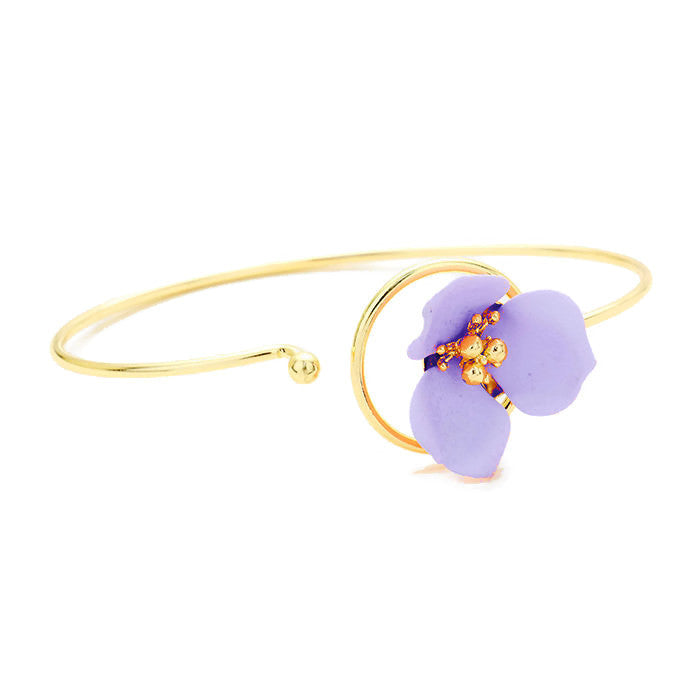 Petal Bangle Lavender