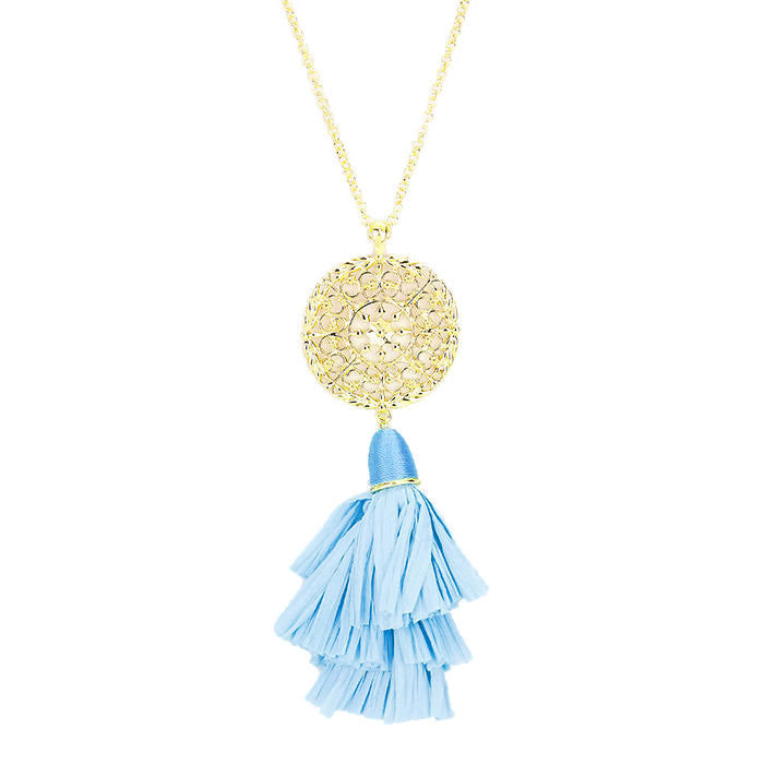 Anya Necklace Azure