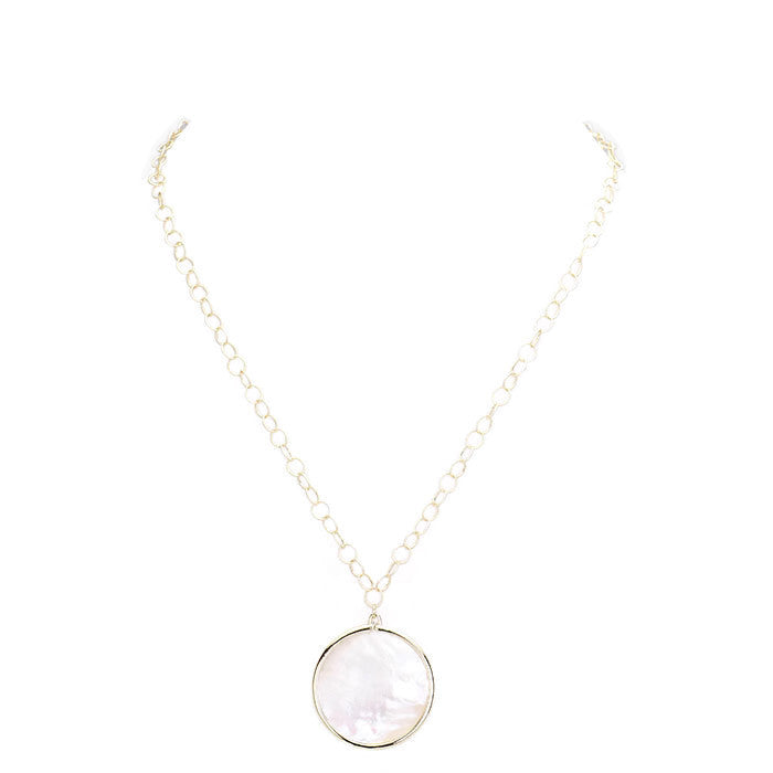 Beth Necklace Gold