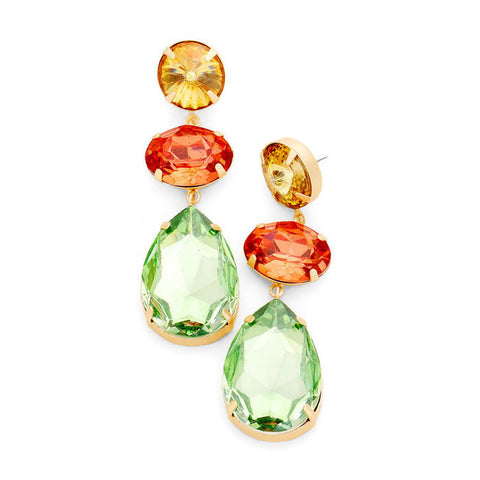 Juliette Earring Green