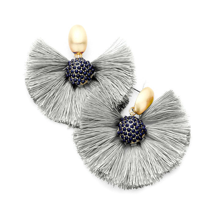 Margaret Earring Gray