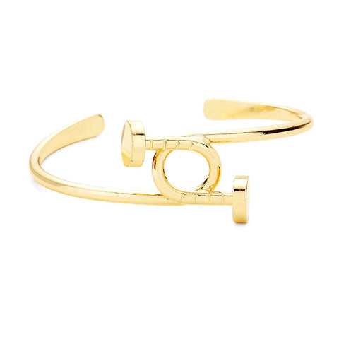 Nailed It Cuff Gold
