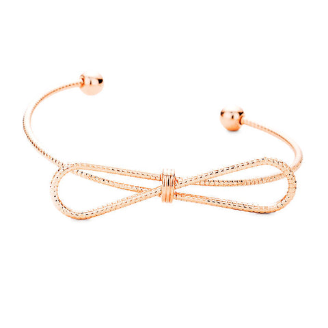 Bow Cuff Rose Gold