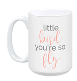 Little Bird Mug front