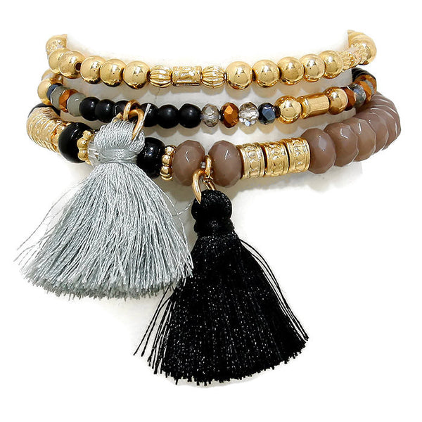 Tassel Convertible Bracelet / Necklace