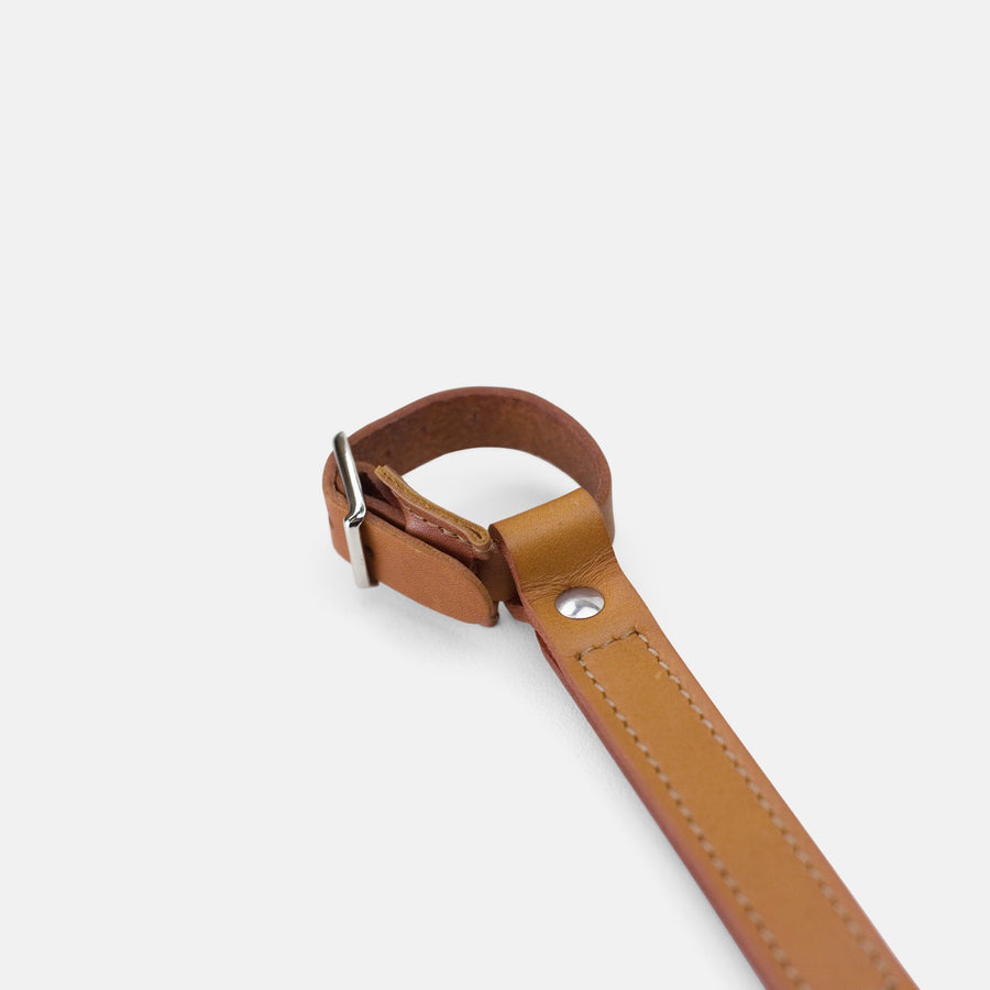 Temple Leather Carry Handle - Light Brown