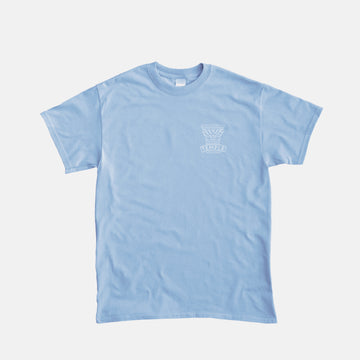 Temple Under the Sun Tee - Blue