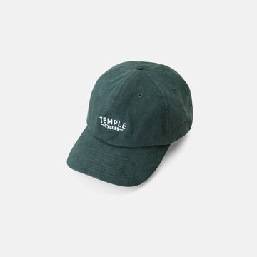 Temple Corduroy Cap - Dark Green
