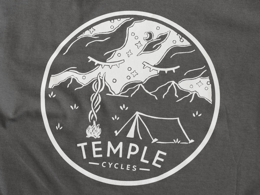 Temple Under the Stars Tee - Grey