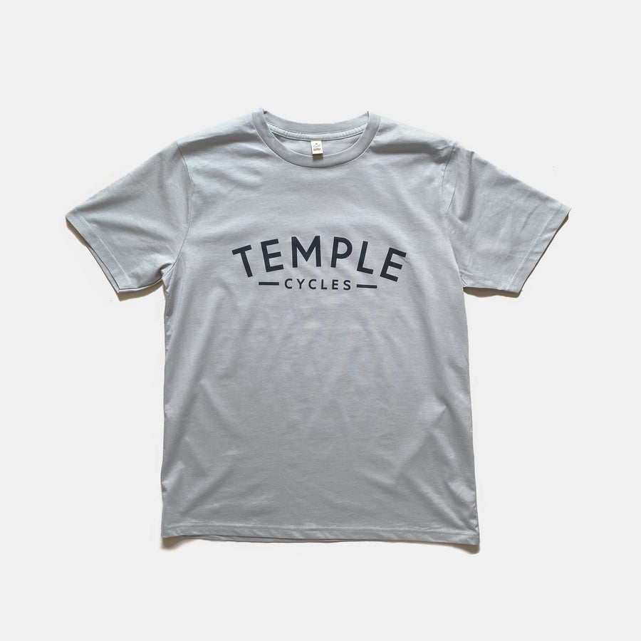 Temple Logo Tee - Dove Grey